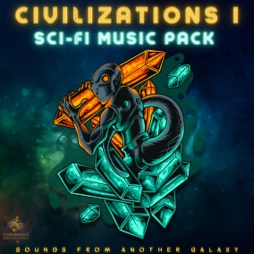 A sci-fi music pack including 10 themes (30 seamless loops in total!). For any space strategy, puzzle, or fantasy RPG game that requires ethereal, ambient, futuristic, and dark background music.