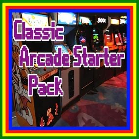 The Classic Arcade Starter Pack is a Modular, Agnostic, Arcade Game Blueprints Template Project, with all of the common arcade functionality already done for you.