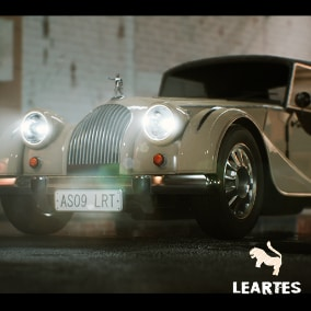 Classic Car 02 Driveable / Animated / Realistic / Customizable, Fully Customizable with separate Parts / Blueprints / Material Instances