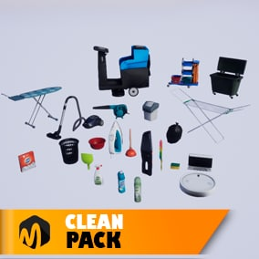 Clean pack - ideal for your house pack or shop.