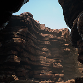 Make Narrow passages with modular pieces or combinations  ready to draw and drop , create your own desert world!