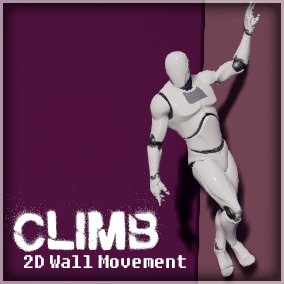 Wall-climbing Blueprints and animations