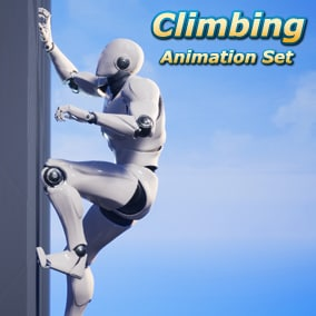 A set of 29 third-person climbing animations for navigating on walls, inspired by games like Zelda: Breath of the Wild!