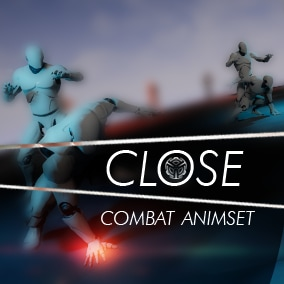 This is a close combat pack of 46 animations.