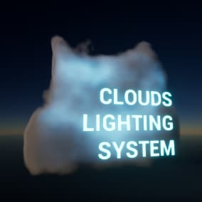 Volumetric clouds dynamic illumination system