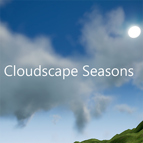 Volumetric Cloud system procedurally generated & with artistic controls