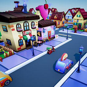 Create beautiful city environments fit for any platform.
