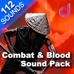 A fantastic package of 112 professional-quality sound effects for combat, weaponry, blood and gore.
