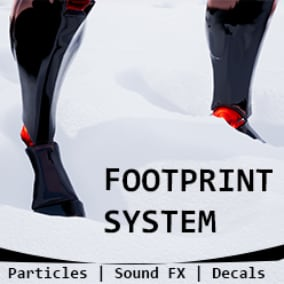 Complete footprint system that supports multiple surfaces such as sand, snow or concrete among others.
