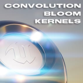 Bloom/Glare effects using Convolution Bloom Kernels in PPV