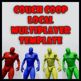 Basic Couch Coop (4 Player) Local Multiplayer Template