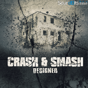 "The ""Crash & Smash – Designed"" sound effects library contains stereo 350 sounds of destruction. You get 5 categories (Glass, Metal, Stone, Wood"", Plastic) each with 50 edited, layered and designed sounds of destruction and demolition."