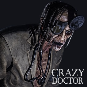 Crazy Doctor is inspired by freaky horror films. It was made for productions which want create very creepy horror games with very good quality model.