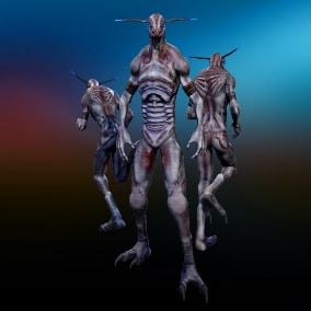 Fantastic character - Creature 3 GHS