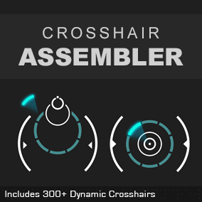 A UMG-based layered dynamic crosshair designer   #jiffycrew, #fps, #gun, #rifle, #scope, #sniper, #aim, #umg, #layer, #battleground, #battleroyale, #AAA, #vector, #recoil, #anti-aliasing, #shape, #circle, #polygon, #arc, #shader, #wysiwyg
