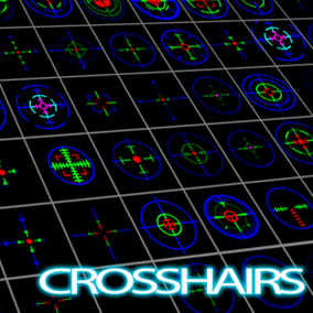 105 Packed Crosshair textures that can be mixed and matched with hundreds of combinations plus animation examples.