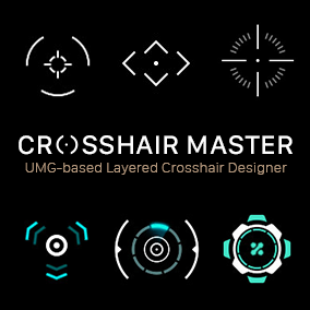 UMG-based Layered Crosshair Designer