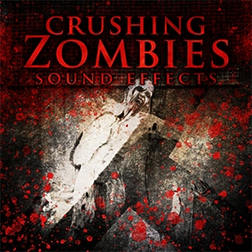 Crushing Zombies Sound Effects is a pack full of gore horrifying sounds, monsters being hit, smashed, stabbed and more.