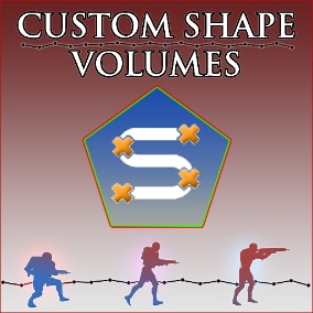 Quickly create custom shaped volumes that can trigger behavior for when your player enters the area.