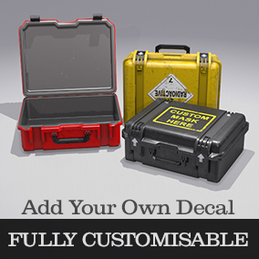 Create your own Custom Case by adding your own Decal, and many other Custom options to give you a unique case pickup.
