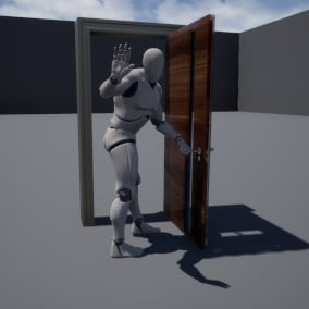 Multiplayer ready doors that have a large amount of options to suit the needs in your game on a budget!
