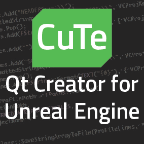 Use Qt Creator as your C++ IDE with Unreal Engine