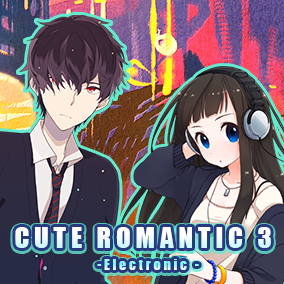 Cute Romantic Music Pack 3 features 5 sweet and electronic musical compositions.