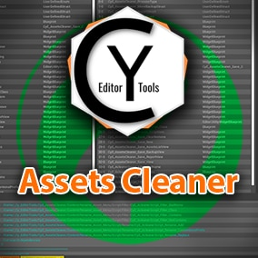 Assets cleaner is a tool that allows the cleaning of assets not used in dependencies by your selected assets, it also allows you to clean empty folders and non-assets files of the project.