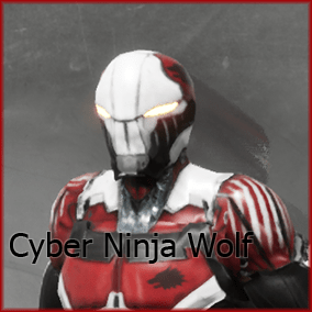 Cyber Ninja Wolf is a high quality, PBR, character model. The stunning leader of a pack of mechanized killers, he hunts without fail.