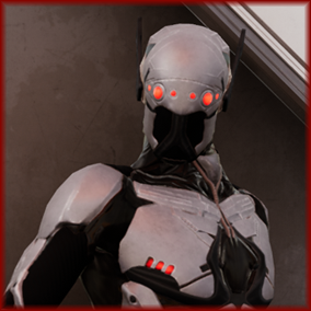 Cybernetic Ninja Rex is a powerful assassin character. Rex, a stealthy, light-weight, martial artist with robotic enhancements. This PBR character model was created via retopology of a high-poly sculpt.