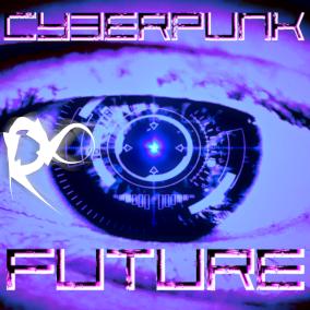 A cyberpunk orchestral collection depicting a futuristic/Sci-Fi theme.