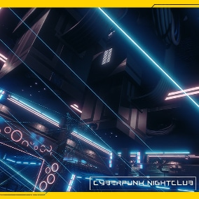 Nightclub for your Cyberpunk Game
