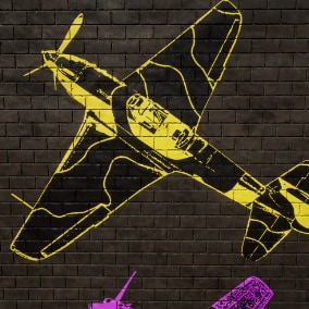 This is a DECAL package that consist of WW2 planes.
