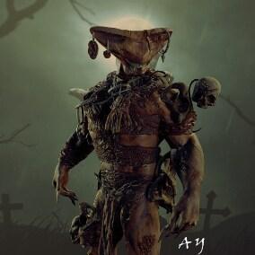 Model: DEMON_ARLIKIN monster Butcher