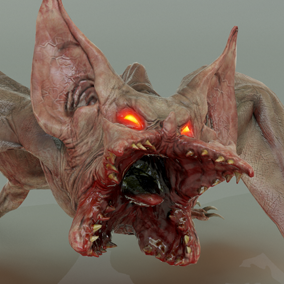 ***Included inside upcoming Demons Pack Vol 1*** Here is the Demon Bat. This vicious flying creature from the underworld will bite you to death until it can drain your soul out!