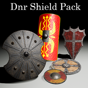 This pack contains 5 shields with more than 10 different visuals for using in your games.