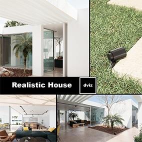 PhotoRealistic Archviz Project - Study House - Complete Archviz House