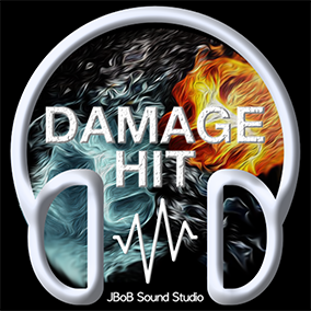 Damage & Hit Sound Pack comes with 585 high-quality sound effects