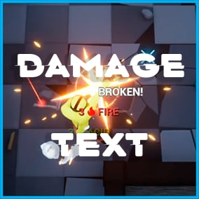 Damage Text allows you to add extra simple damage display and other information to your project when dealing damage. The asset contains presets, and you can easily add your own presets and animations.