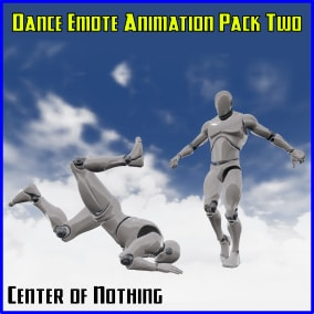 10 handcrafted, seamless looping dance emote animations for the Unreal Epic Skeleton!