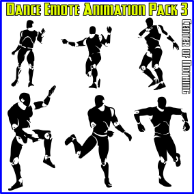 11 handcrafted, seamless looping dance emote animations for the Unreal Epic Skeleton!