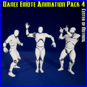 15 handcrafted, seamless looping dance emote animations for the Unreal Epic Skeleton!