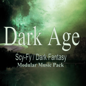 The Dark Age Music Pack is an adaptive music asset pack for Scy-Fy / Dark Fantasy themed games.