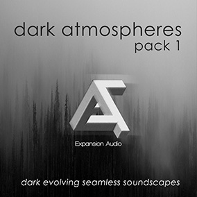 Dark evolving seamless soundscapes