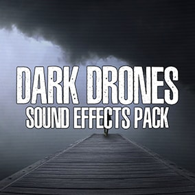 Dark Drone Sound Effects Pack