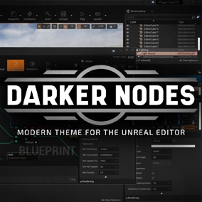 Modern theme for the Unreal Editor.