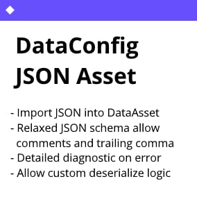 Import JSON files into Unreal Engine as DataAsset