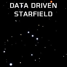 2 Starfield Generators from a Data Table