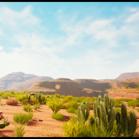 """""""Dead Canyon"""" Landscape"""