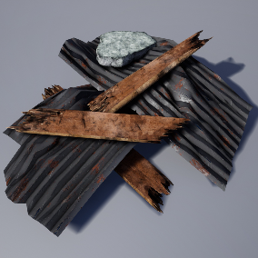 Debris Pack also for AR / VR projects